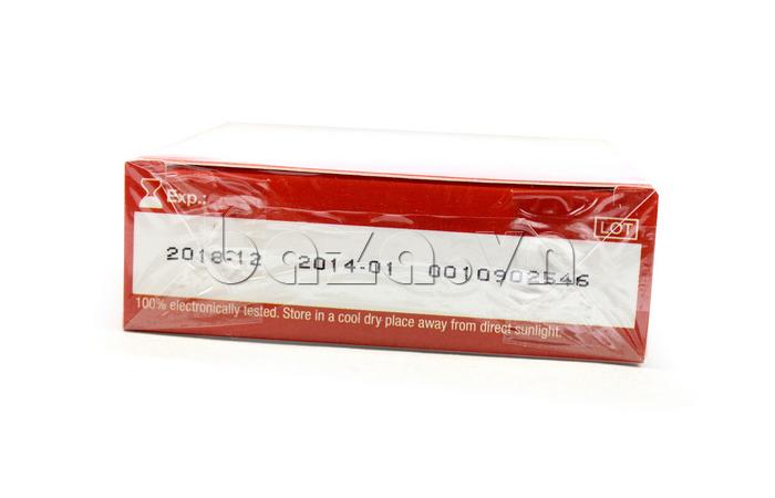 Bao cao su Durex Strawberry - hạn sử dụng rõ ràng