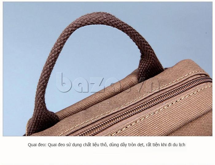 Ba lô nam vải thô Buweisi S073 - đường nét tinh xảo