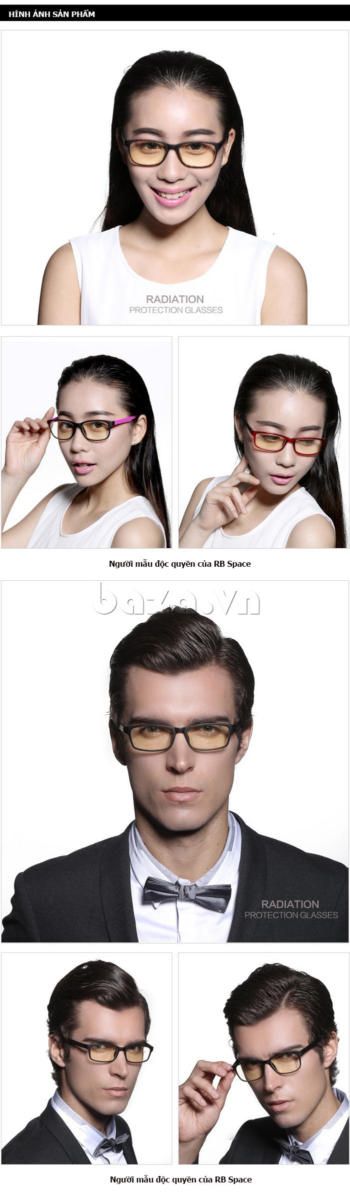 Kính mắt thời trang RBSPACE 015 - phong cách lịch lãm cho nam
