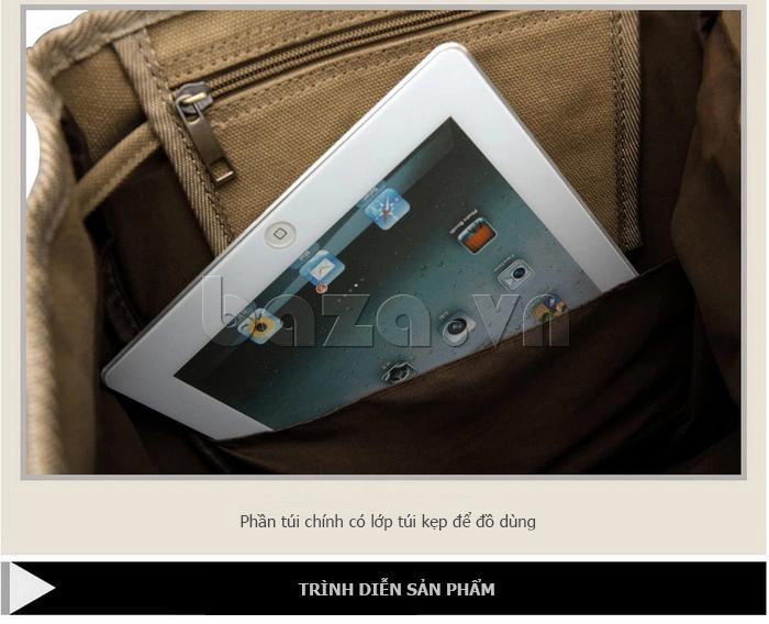 Balo du lịch BuweisiS053 đựng vừa laptop[