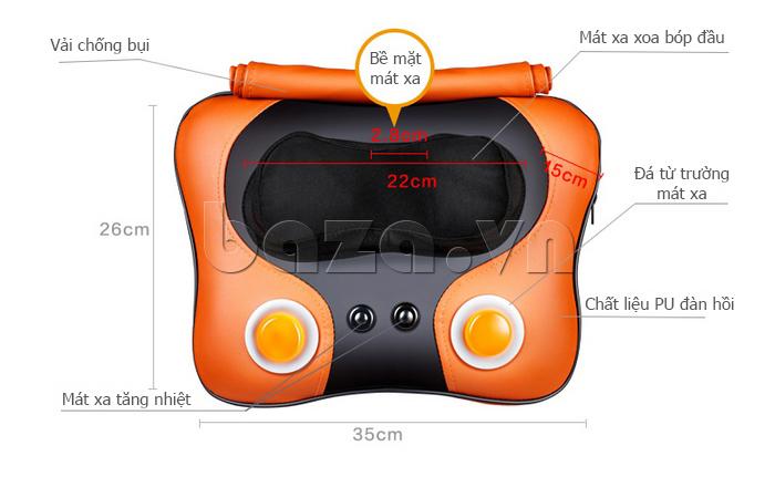 Thiết kế của Máy massage đa năng Mimir MK-06