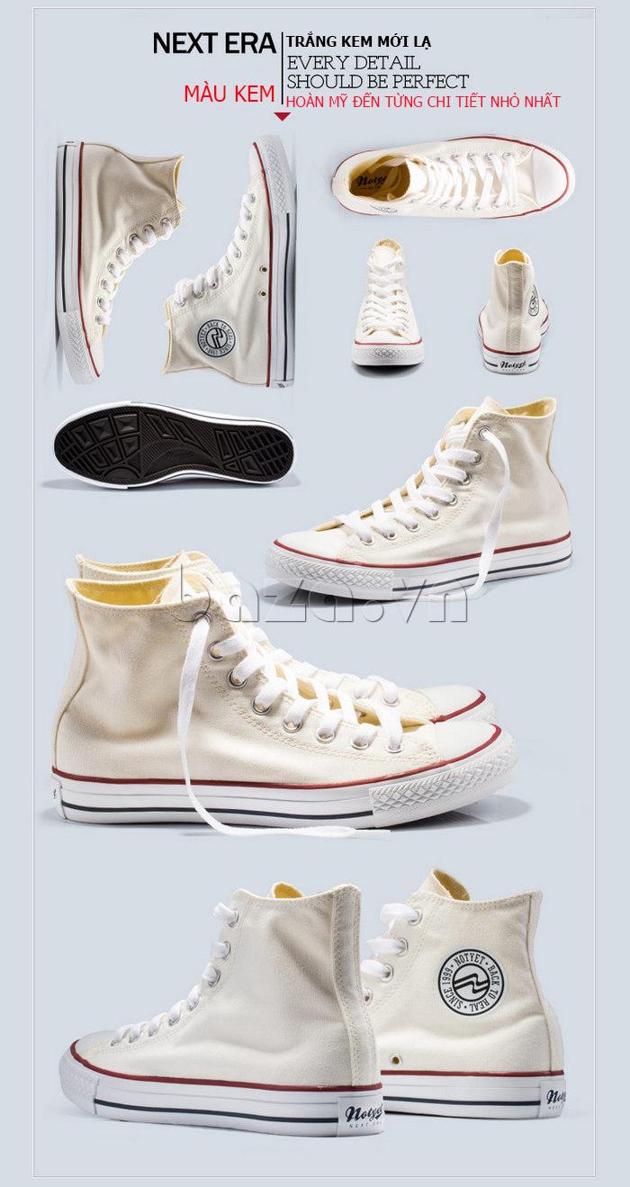 Giày vải nam Notyet NY-ZY3215 trẻ trung