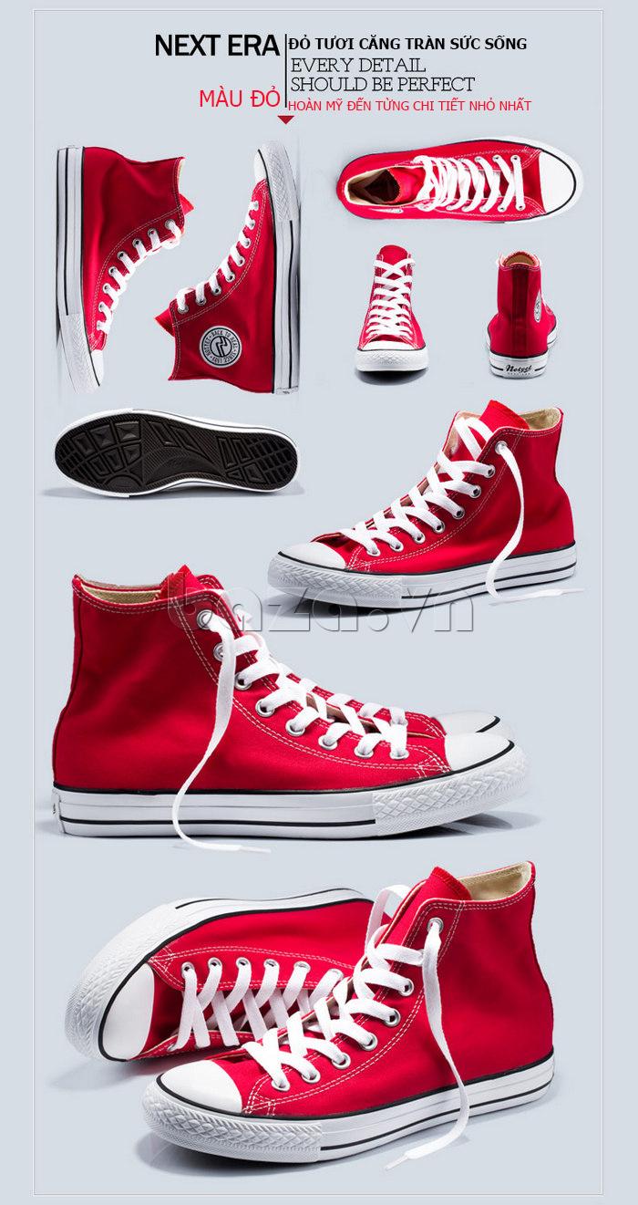 Giày vải nam Notyet NY-ZY3215 tinh tế đến từng chi tiết