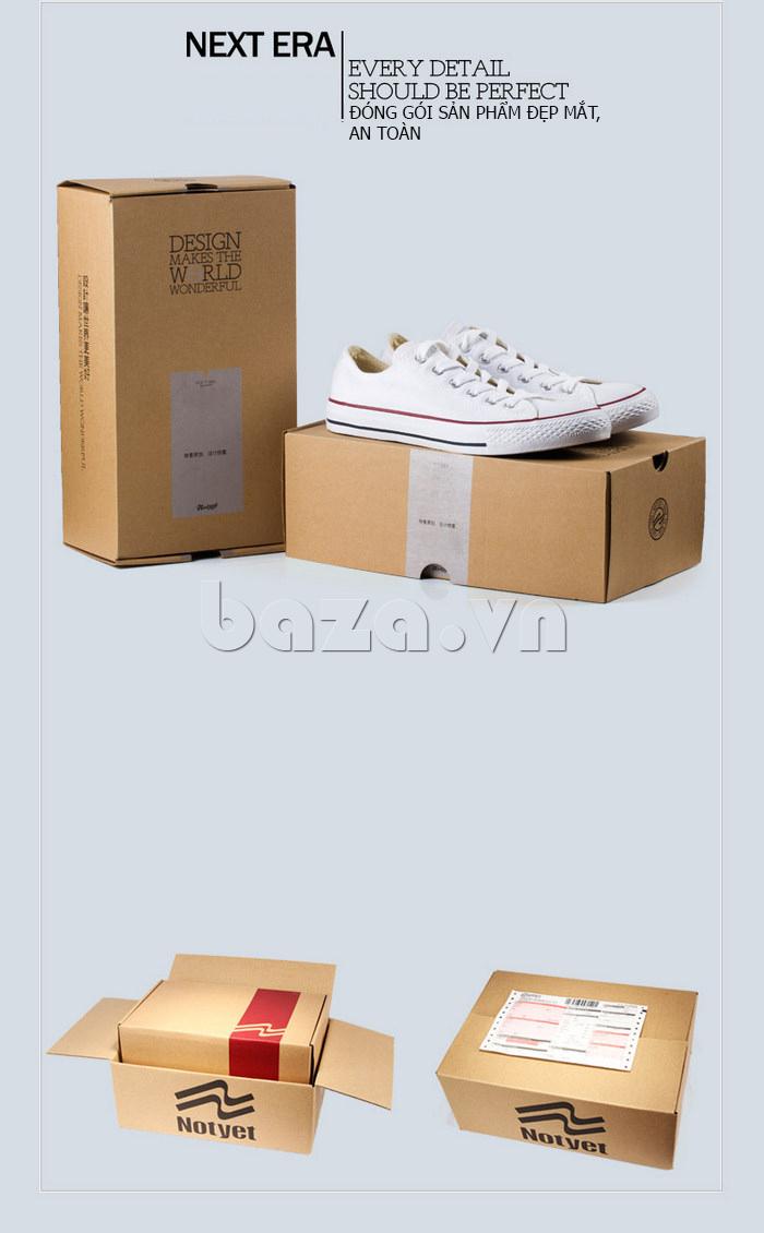 Hộp đựng sang trọng của Giày vải nam Notyet NY-ZY3215