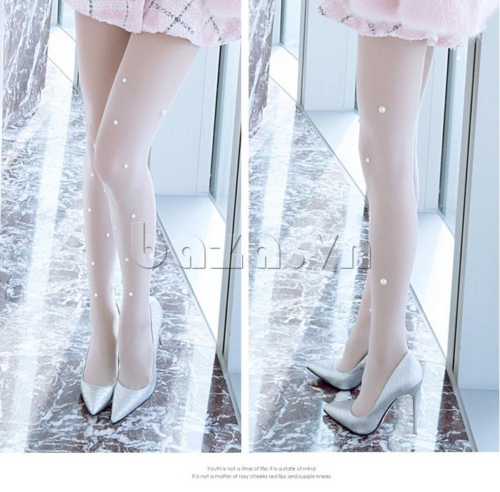 Giày nữ gót nhọn thời trang KAKANIYA 88-18
