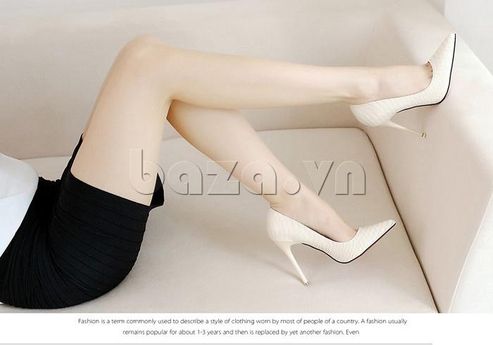 Giày nữ gót nhọn KAKANIYA 88-18 sang trọng