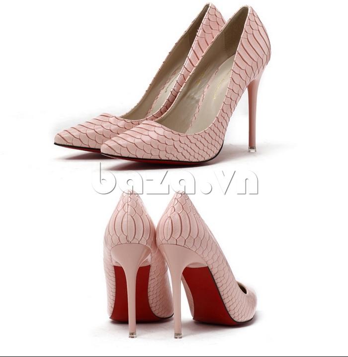 Giày nữ gót nhọn KAKANIYA 88-18 thời trang