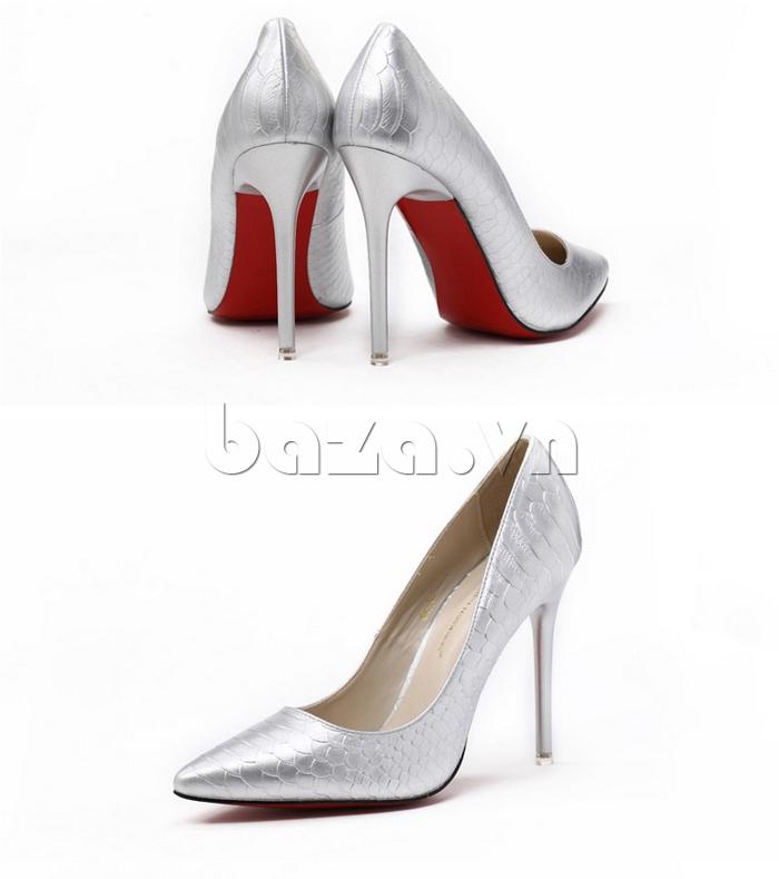 Giày cao gót nữ mũi nhọn KAKANIYA 88-18