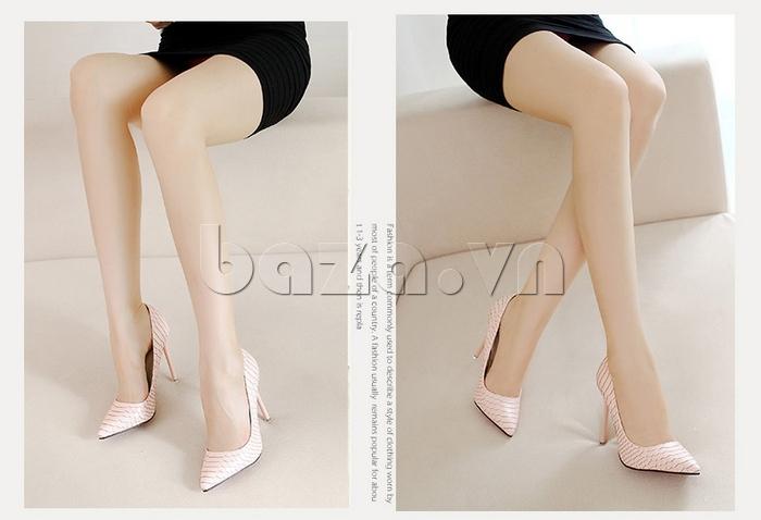 Giày nữ gót nhọn KAKANIYA 88-18 phong cách