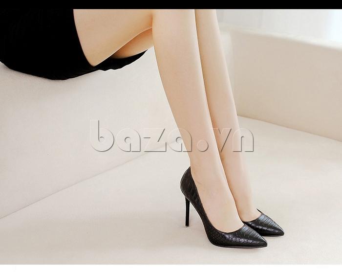 Giày nữ gót nhọn KAKANIYA 88-18 nổi bật