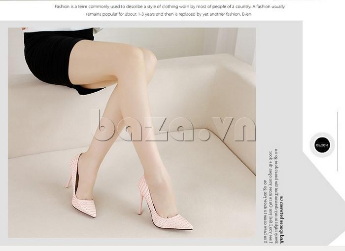 Giày nữ gót nhọn KAKANIYA 88-18 quyến rũ