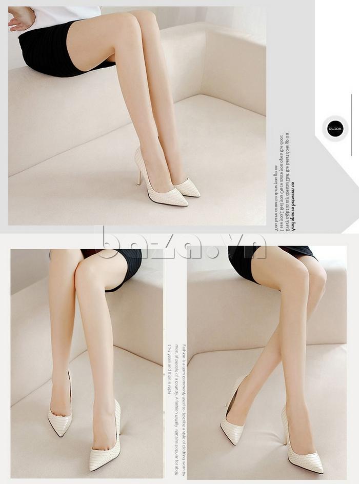 Giày nữ gót nhọn KAKANIYA 88-18 trẻ trung
