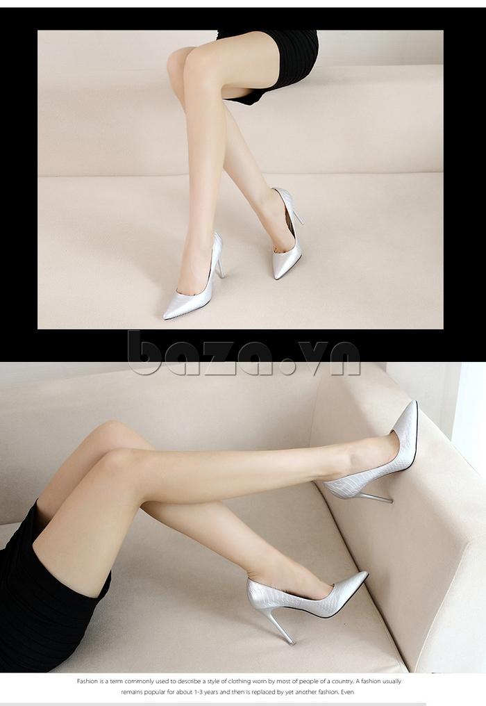 Giày nữ gót nhọn KAKANIYA 88-18 cuốn hút