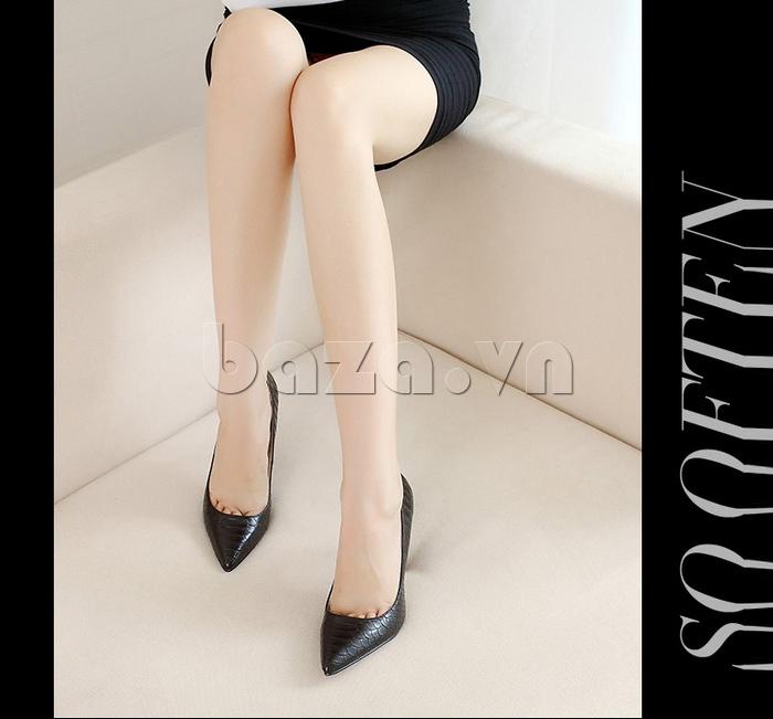 Giày nữ gót nhọn KAKANIYA 88-18 hiện đại
