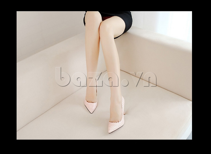 Giày nữ gót nhọn KAKANIYA 88-18 thanh lịch
