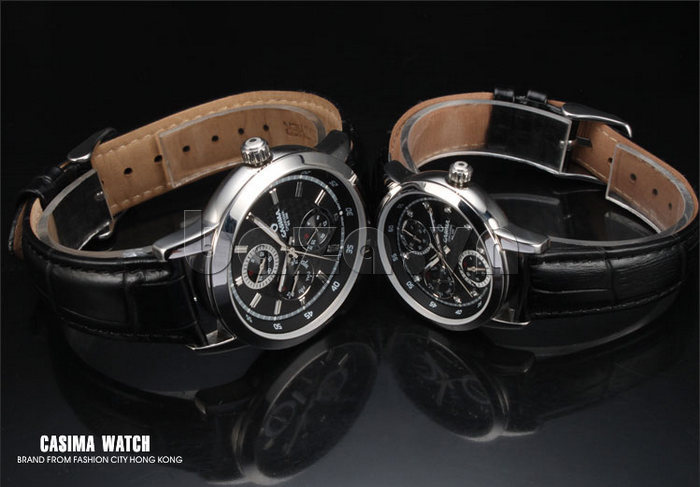 Đồng hồ nam Casima 5105 kim giờ to bản hoàn hảo và đẹp