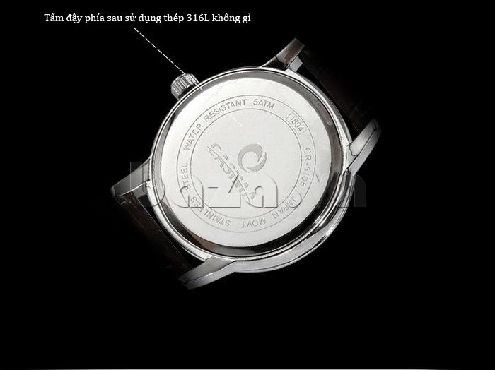 Đồng hồ nam Casima 5105 kim giờ to bản phong cách