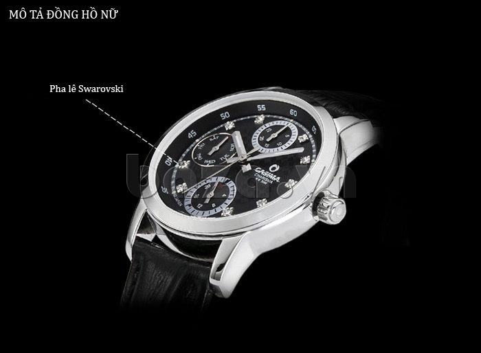 Đồng hồ nam Casima 5105 kim giờ to bản tinh tế