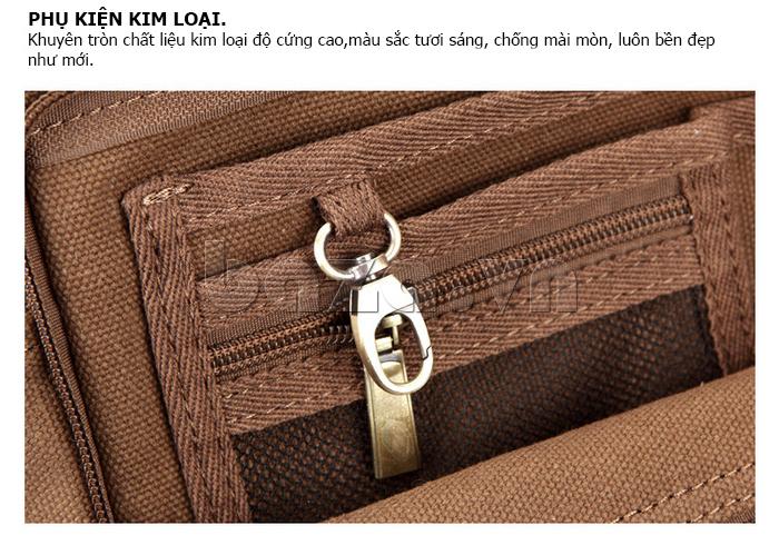 Túi vải nam Feger S038 hai túi nhỏ bên sườn dành cho phái mạnh