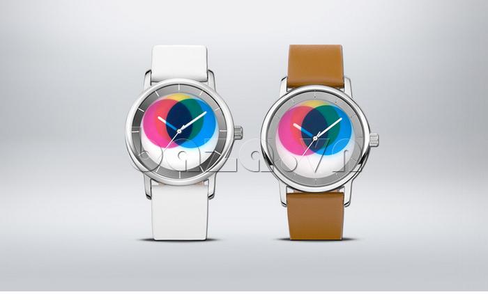Đồng hồ thời trang Time2U 91-19045 dây da mềm mại