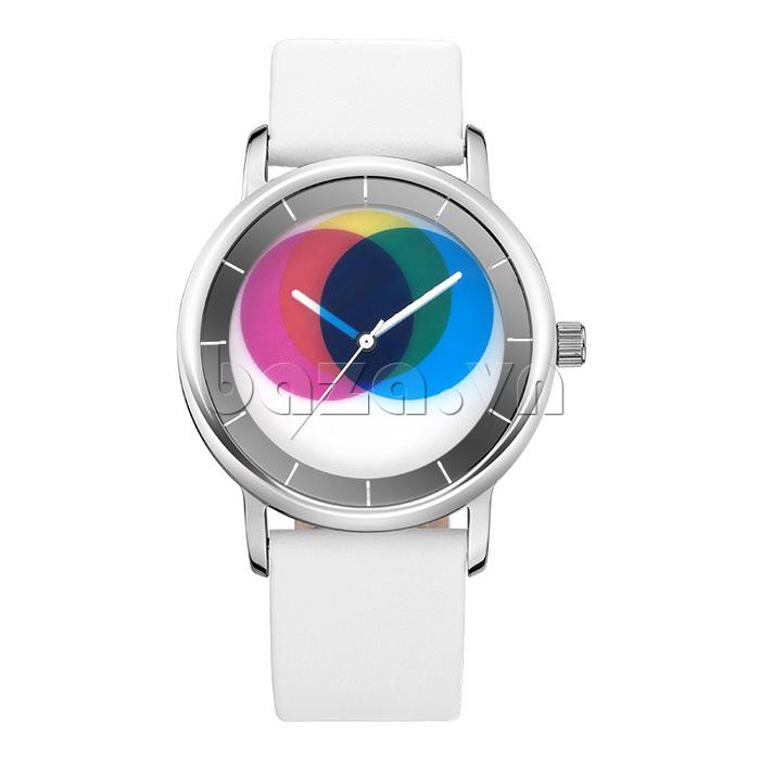 Đồng hồ thời trang Time2U 91-19045 màu sắc đa dạng