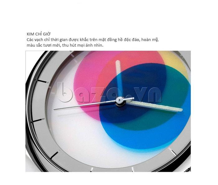 Đồng hồ thời trang Time2U 91-19045 thiết kế độc đáo hoàn mỹ
