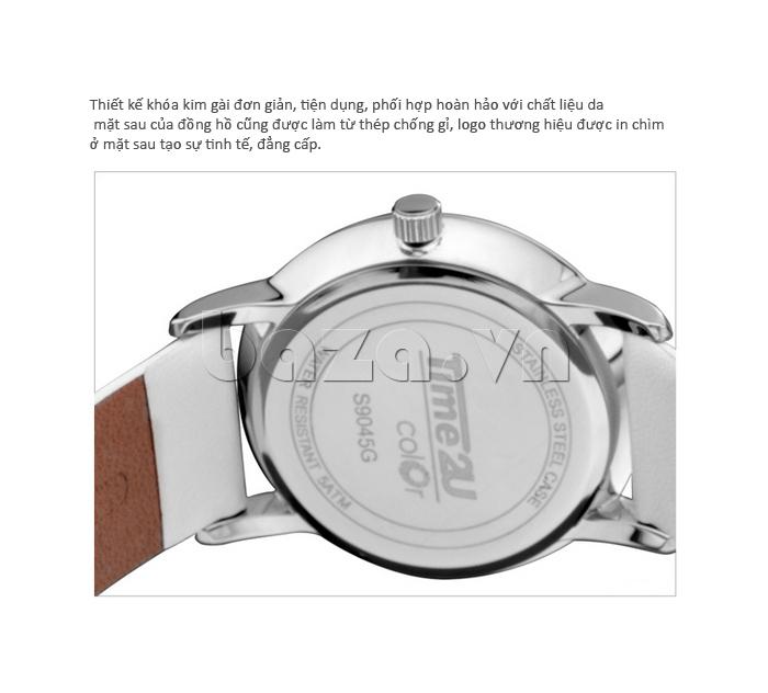Đồng hồ thời trang Time2U 91-19045 khóa gài kim đơn giản