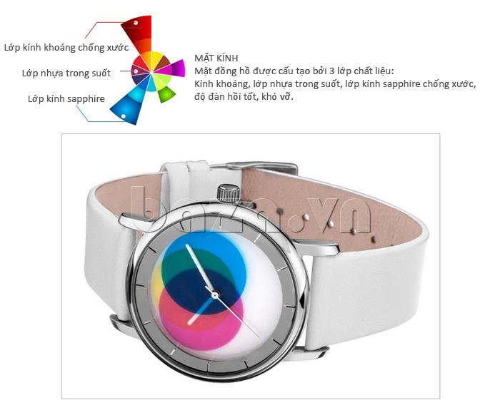Đồng hồ thời trang Time2U 91-19045 lớp kính khoáng cao cấp