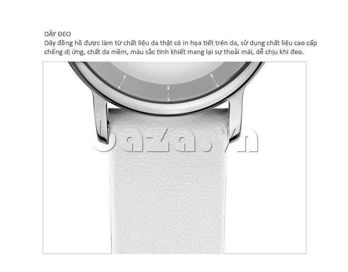 Đồng hồ thời trang Time2U 91-19045 dây đeo đồng hồ sang trọng