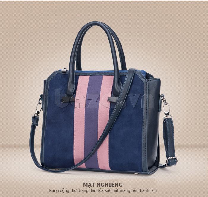Túi xách nữ Binnitu 082 Thân túi nổi bật  quai đeo đơn giản,nhẹ nhàng tinh tế