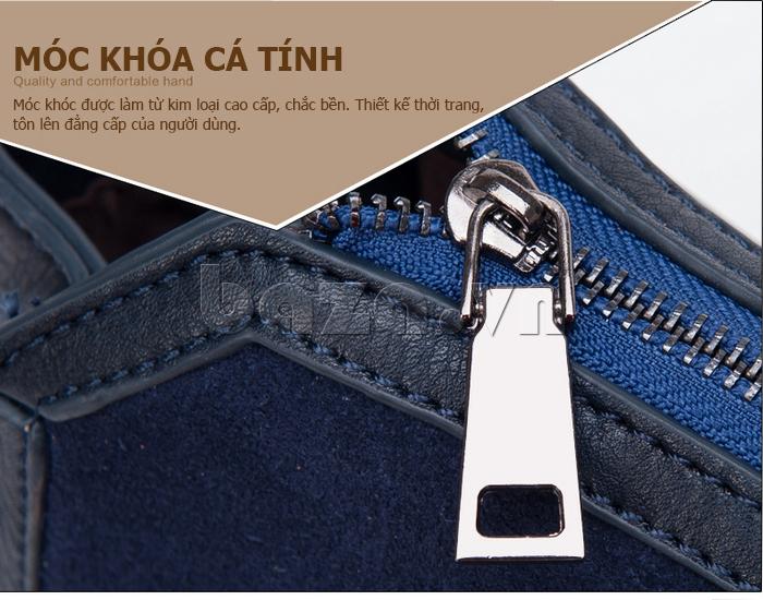 Túi xách nữ Binnitu 082 Thân túi nổi bật  móc khóa làm từ kim loại cao cấp