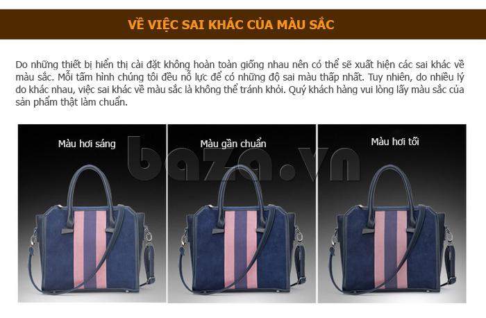 Túi xách nữ Binnitu 082 Thân túi nổi bật  chất lượng vượt trội