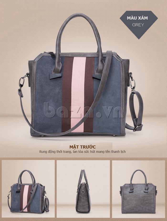 Túi xách nữ Binnitu 082 Thân túi nổi bật  vẻ đẹp bền bỉ cùng năm tháng