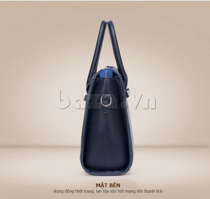Túi xách nữ Binnitu 082 Thân túi nổi bật  đẹp ở mọi góc nhìn