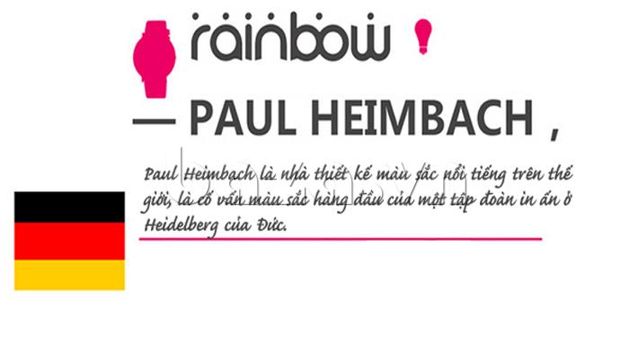 Đồng hồ thời trang Time2U 91-29048 được thiết kế màu sắc bởi paul heimbach