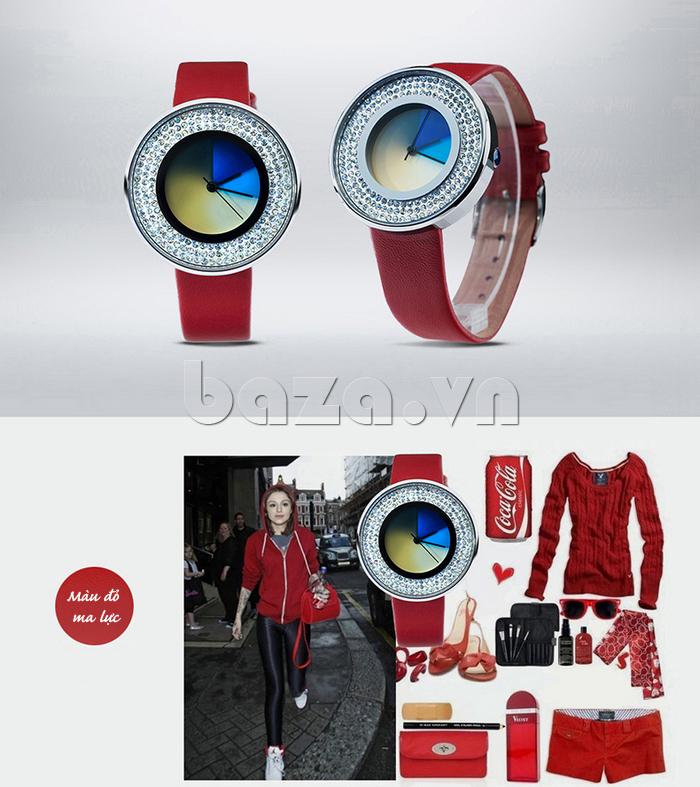 Đồng hồ thời trang Time2U 91-29048 dễ phối đồ