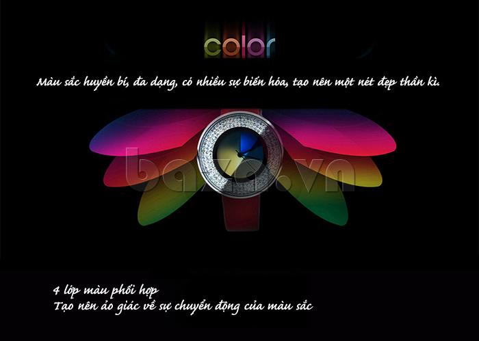 Đồng hồ thời trang Time2U 91-29048 màu sắc huyền bí