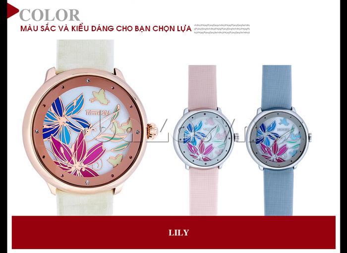 Đồng hồ nữ Time2U 91-18395 màu sắc và kiểu dáng cho bạn chọn lựa