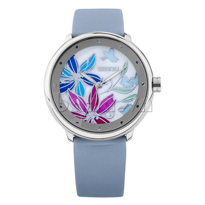 Đồng hồ nữ Time2U 91-18395 trang trí tinh tế