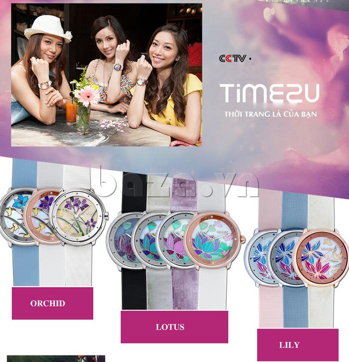 Đồng hồ nữ Time2U 91-18395 thời trang tôn vinh bạn gái