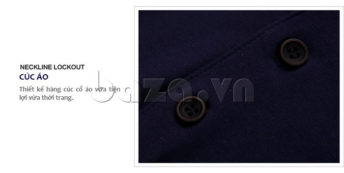 Áo nam SINHILLZE Thanh lịch 842 thiết kế hàng cúc áo tiện lợi