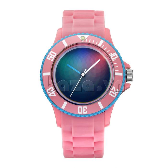 Đồng hồ thời trang Time2U 92-17533 màu sắc tươi mới