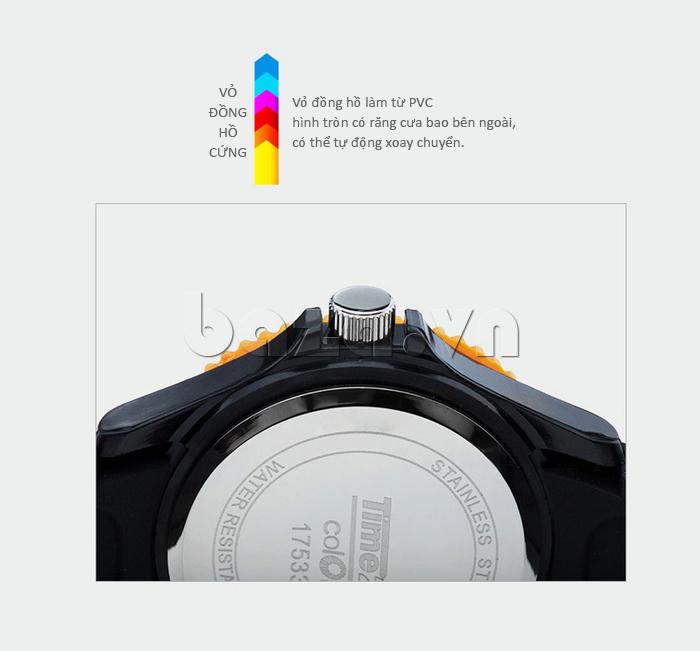 Đồng hồ thời trang Time2U 92-17533 vỏ đồng hồ cứng cáp
