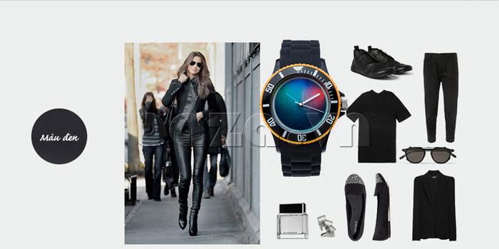 Đồng hồ thời trang Time2U 92-17533 dễ mix đồ