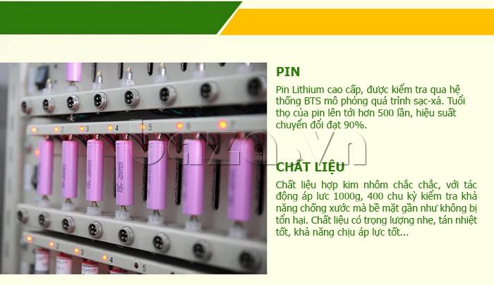 Pin dự phòng di động 10000mA Yoobao S5 chất lượng