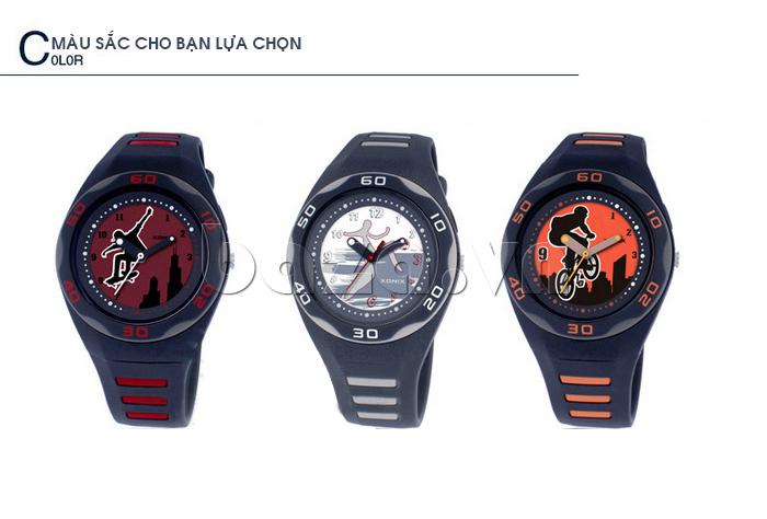Đồng hồ thể thao Xonix RB có nhiều màu để bạn lựa chọn