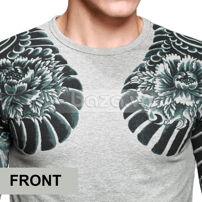 Baza.vn: Áo T-shirt nam thu đông MT-9917 sang trọng và đẳng cấp