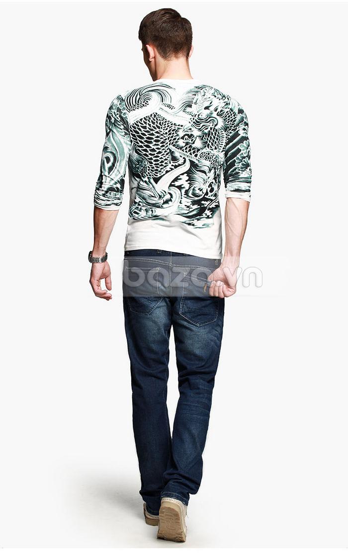 Baza.vn: Áo T-shirt nam thu đông MT-9917 vẻ đẹp lên ngôi