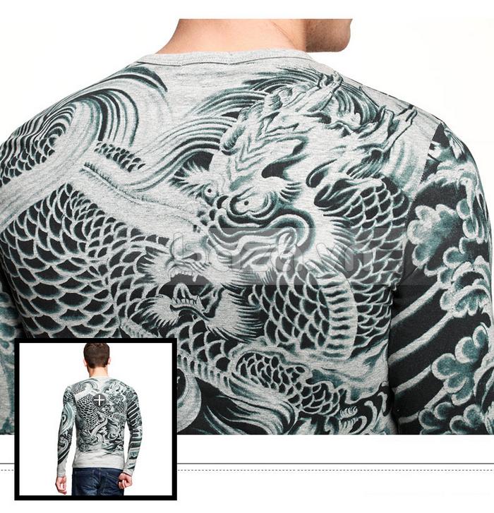 Baza.vn: Áo T-shirt nam thu đông MT-9917 -sản phẩm áo thun nam sang trọng
