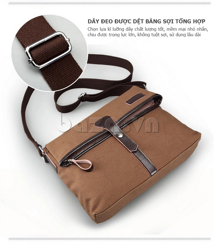 Túi đeo thời trang Buweisi S062 dây đeo sợi dệt tổng hợp\
